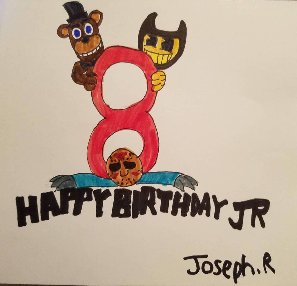A Birthday Card For My Nephew By Hallowsjojo2000