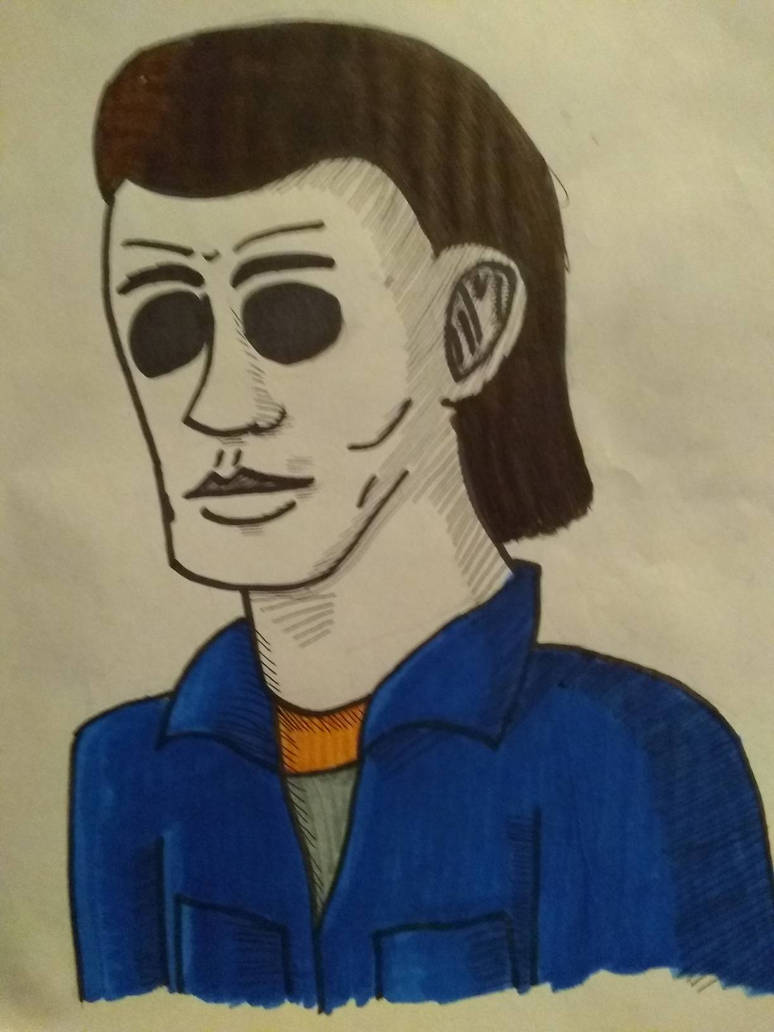 michael myers shadings test by hallowsjojo2000