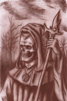 Undead Wizard (Lich) by Qodaet