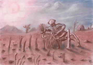 Alien Harvester by Qodaet