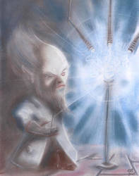 Gnome Scientist by Qodaet