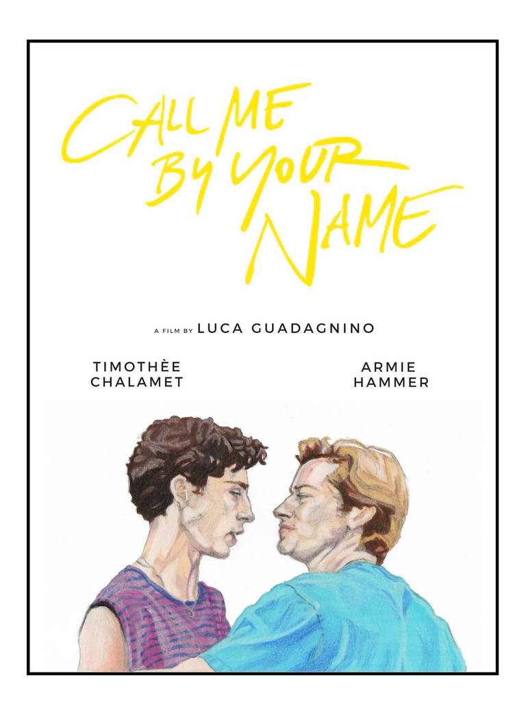 Call me by your name by ludovicacavalieri