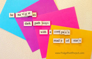 The Daily Magnet #176 by FridgePoetProject