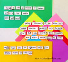 The Daily Magnet #184 by FridgePoetProject
