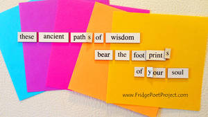 The Daily Magnet #186 by FridgePoetProject