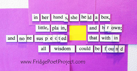 The Daily Magnet #335 by FridgePoetProject
