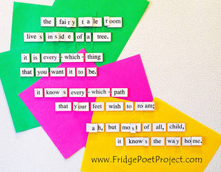 The Daily Magnet #356 by FridgePoetProject