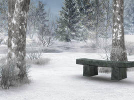 Winter Background 2 by BlackStock