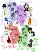 Doodlestuck: Beta Kids by jaboody