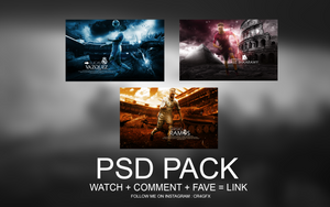 PSD Pack by ChrisRamos4 by ChrisRamos4GFX