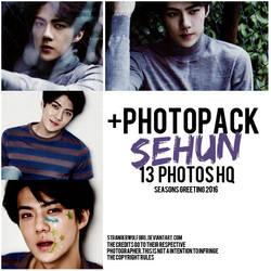 +SEHUN (EXO) {Photopack} by StrangerWolfGirl