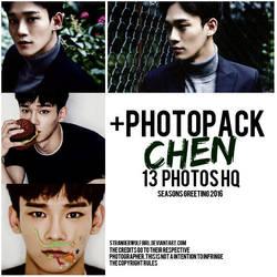 +CHEN (EXO) {Photopack} by StrangerWolfGirl