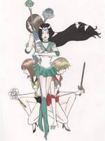 Sailor... Hogwarts? by crystalomnia