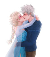 A Kiss of Frost by hana-zomi
