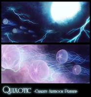 Quixotic Charity Artbook Preview by ruina
