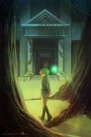 Ocarina of Time: Saria by ruina