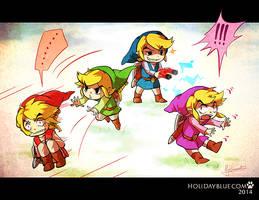 Four Swords: Teamwork by ruina
