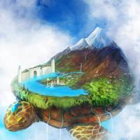 Turtle Island by ruina