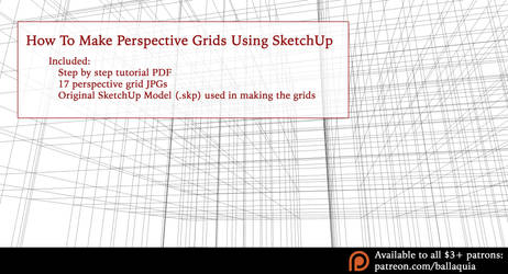 Perspective Grid Tutorial Set by ruina