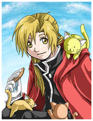 FMA - A Cookie for the Kitties by ruina