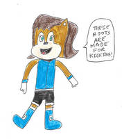 Sally Acorn - Boots are made for kicking by dth1971