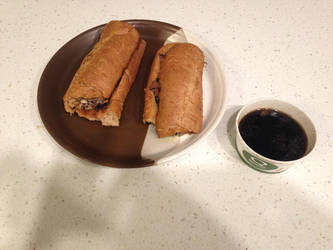 French dip sandwich with au jus by dth1971