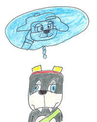 Rotor thinks about Renee by dth1971