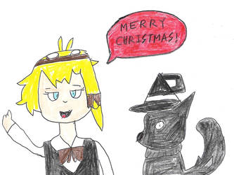 Jupiter and fox form Lux - Secret Santa gift by dth1971