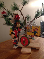 A Charlie Brown Christmas Tree by dth1971