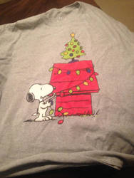Snoopy Christmas long sleeve shirt by dth1971