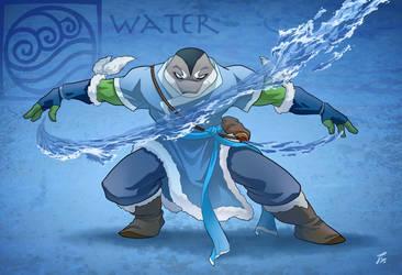 Leonardo waterbender by tanya-buka