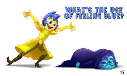 What`s the use of feeling blue? by tanya-buka