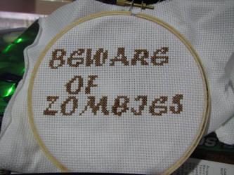 Beware of Zombies by GelarPhoenix