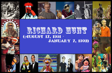 Tribute To Richard Hunt by Rumtar