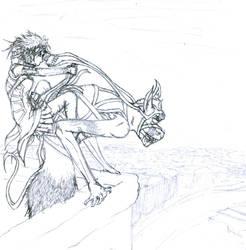 Gargoyle Rider by quesokage