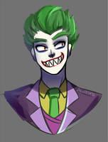 Joker warmup by Abakura