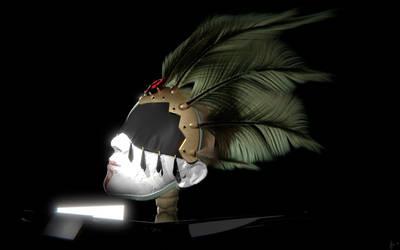 Funerary Mask by minionofphysics