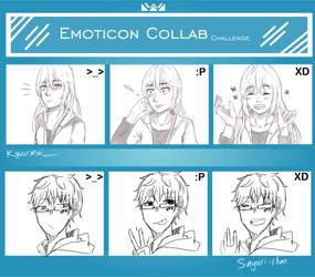 Emoticon Collab Oc! by Sayuri-chann