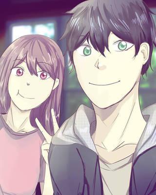 Sayuri and Kent by Sayuri-chann