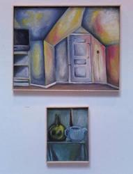 Interior and Still Life by wakethefallen13