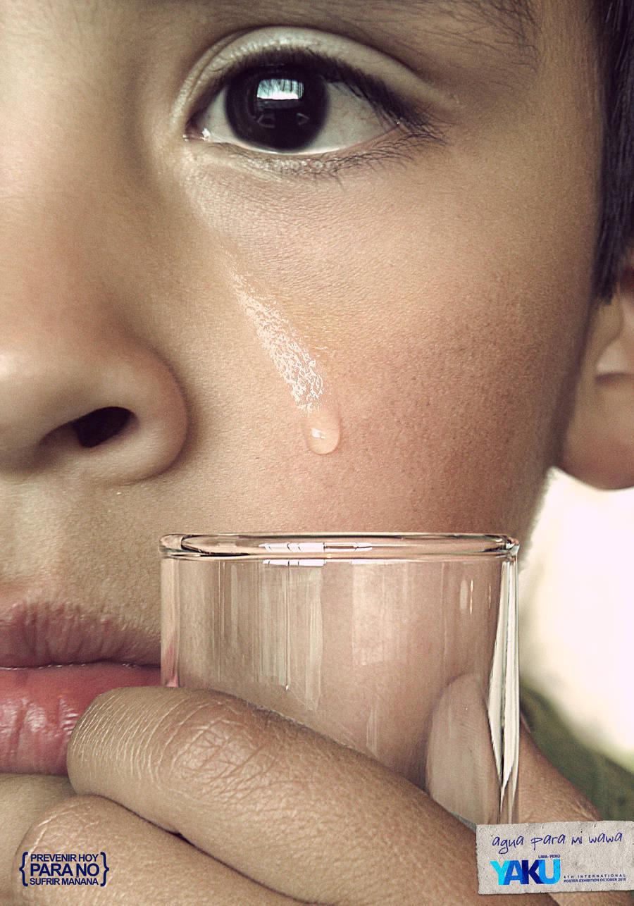 save water - tear by rodrigozenteno