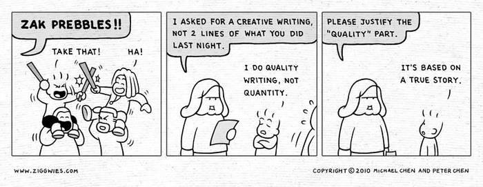 Quality Writing by ziggwies