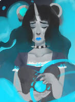 Lacrima by Merihan-Painter