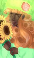 Flowers by Merihan-Painter