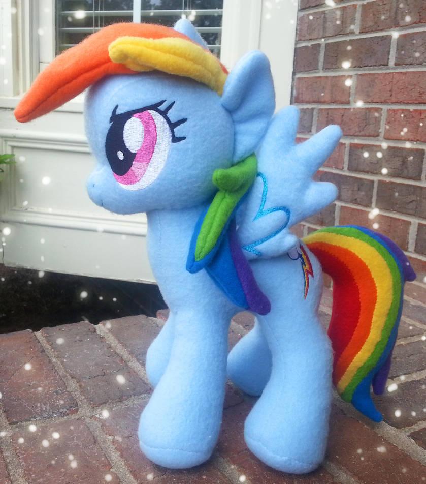 Rainbow Dash Plush V 3 By Mintystitch On Deviantart