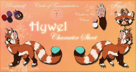 .: Hywel Character Sheet :. by MikaAvhessLhunatiix