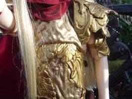 Lord Crimson Armor Closeup by AmethystArmor