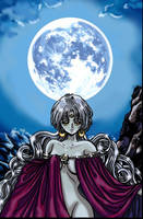 The Moon - Tarot Series by AmethystArmor