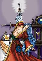 The Magician - Tarot Series by AmethystArmor