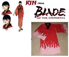 Rin from Blade of the Immortal by AmethystArmor